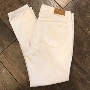 kate spade White Denim Jeans
